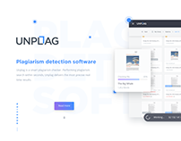 Unplag Plagiarism Checker - Redesign