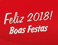 Cartão de Natal Cesta - Brasgraphics 2017