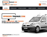 Site web Sponsor-travaux