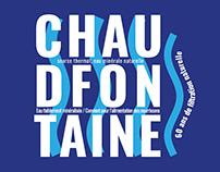 Typographie Expérimental - Chaudfontaine
