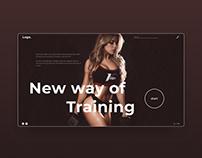 Design marathon - fitness trainer