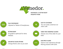 FREE - Venedor - Premium Responsive Magento Theme