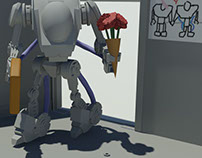 Cheating Robot Animation