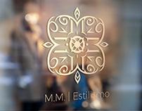 M.M. Estilismo Logo & Identity