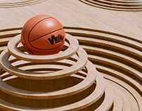 KINETIC SCULPTURES BASKETBALL