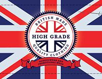 'High Grade Clothing' Brand Identity & Website Design