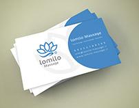 Lomilo Massage Logo /لوگوی لومیلو ماساژ