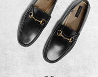 Logo and branding for a Mens Shoe
