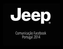 Jeep Portugal | Comunicação Facebook 2014