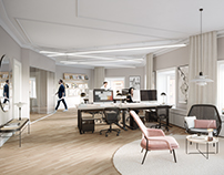 TWO MODERN AND SOPHISTICATED OFFICES
