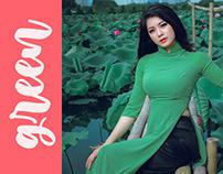 GREEN preset photoshop cc (Free)