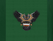 Soaring Owl Spellbinding Embroidery Design