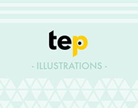 Tep illustrations - calendar selection (2015)