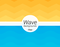 Wave Geometric Backgrounds Freebie