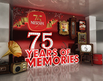 Nescafe 75 anniversary in Egypt