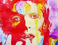 David Bowie - Watercolour