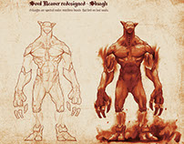 Soul Reaver redesigned - Sluaghs