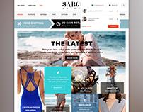 Sabo Skirt - Visual Web Design