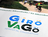 GiroVaGo. Logo. Travel agency and provider.