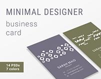 Modern - Business Card Template