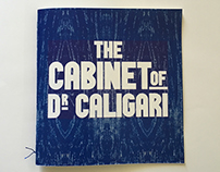 The Cabinet of Dr. Caligari — Blue illustration