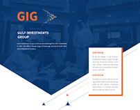 Gulf Investments Group Website
