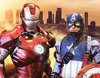Iron Man versus Captain America