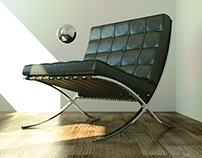 Barcelona Chair in Cycles!