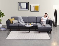 Robin modular sofa system - VIVENSE