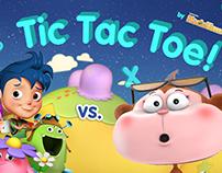 Tic Tac Toe on Samsung KidsTime