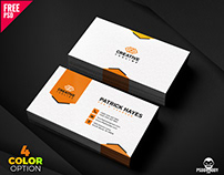Business Card Design Free PSD Set