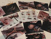 """Postcards """"7 protectors """""""