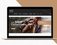 Web Design for Online Jackets Market