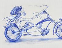 Bicycle people