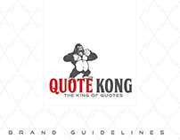QUOTE KONG BRAND GUIDELINES