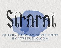 Free Font - Strarat Elegante