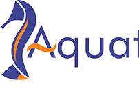Aquatico. Diseño de isologotipo