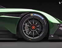 Aston Martin Vulcan Studio shoots