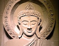 Cardboard Buddha | Corrugated Cardboard Sculpture.