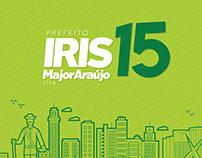 Identidade Visual para campanha de Iris Rezende