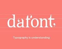 Dafont - Rebranding (v.2)