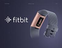 Fitbit - UX/UI redesign concept