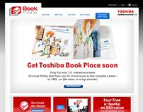 Microsite + Web Banners - Toshiba