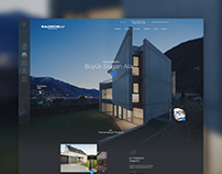 Prefabric Houses Web Design