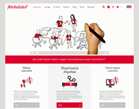 Abrakadabra agency - website redesign