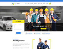 Pro Repair - Electric, Plumber and Car Service PSD
