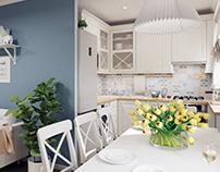 Дизайн-проект квартиры для молодой семьи