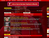 Liverpool Football Club Website