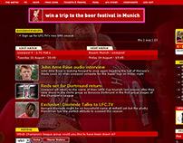 Liverpool Football Club Website