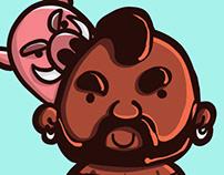 Doodle: Hog Rider / Clash Royale